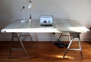 Schreibtisch Selber Bauen Arbeitsplatte : schreibtisch selber bauen 57 kreative ideen und anleitungen ~ Eleganceandgraceweddings.com Haus und Dekorationen