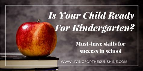 is your child ready for preschool is your child ready for kindergarten living for the 665