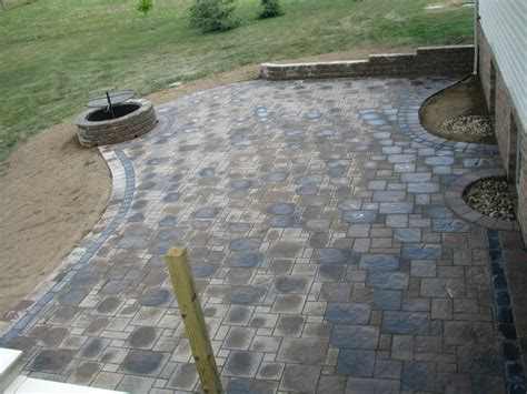 unilock stack 17 best images about patios on pits