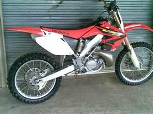 Honda CR 250 Dirt Bike