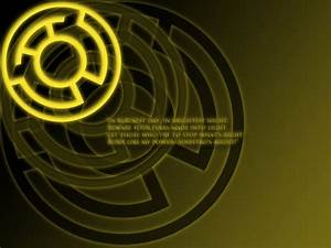 Yellow Lantern Oath Wallpaper by stampedeofxflames ...