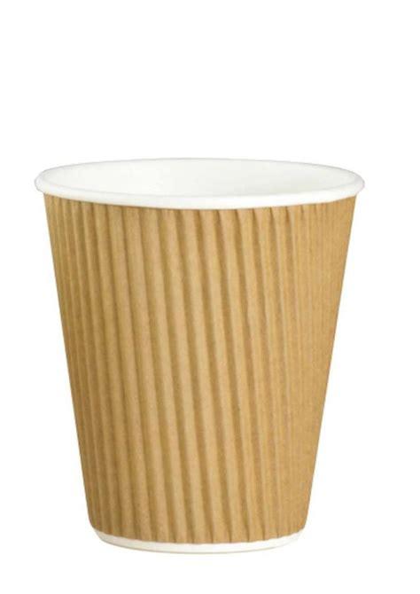 8oz Brown Kraft Ripple Cup (500) [RIPP08] - £27.90 ...