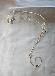 collier bracelet pour soiree en fil d39aluminium With création bijoux mariage