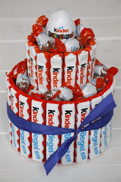 torte aus kinderschokolade kreatives geburtstagsgeschenk anleitung f 252 r eine
