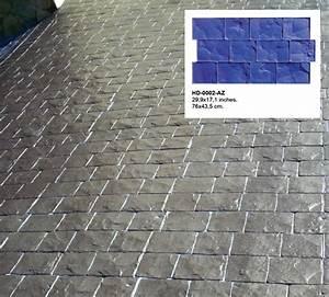 superieur prix terrasse beton imprime 2 moules et With prix terrasse beton imprime