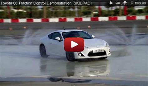demonstration  fr  brz vsc vehicle stability control
