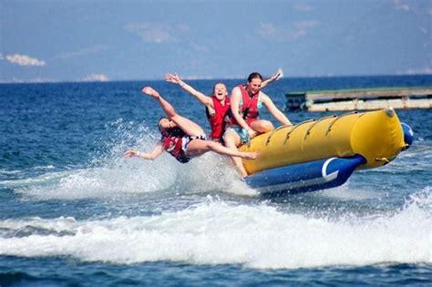 Banana Boat You by Banana Boat Ride Dubai Color Of The Sea Water Sports