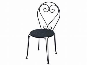 Salon De Jardin Romantique : table 4 chaises jardin fer forg guermantes anthracite ~ Dailycaller-alerts.com Idées de Décoration