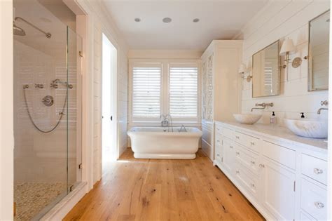 hardwood flooring bathroom cliff road area nantucket beach style bathroom