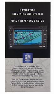 Gm Touch Screen Navigation Entertainment System Quick