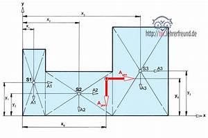 Volumenschwerpunkt Berechnen : zusammengesetzte fl che berechnen pictures to pin on pinterest ~ Themetempest.com Abrechnung