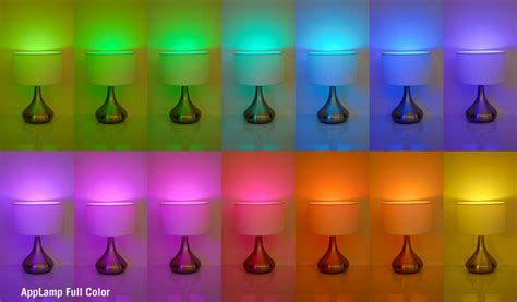 Lamp Touch Control by Wifi Kleuren Led Lamp Rgbw 9w Applamp Nl