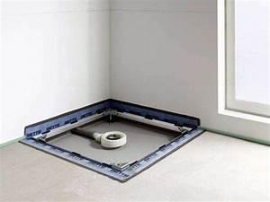 Ebenerdige Dusche Einbauen : bodenebene dusche abdichten ~ Frokenaadalensverden.com Haus und Dekorationen