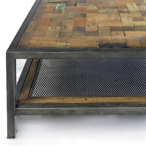 la redoute bout de canapé table basse carree bois et fer ezooq com