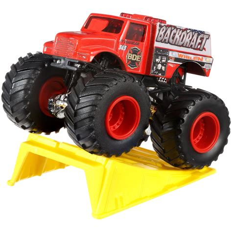 monster jam toys trucks wheels monster jam dragon blast challenge play set