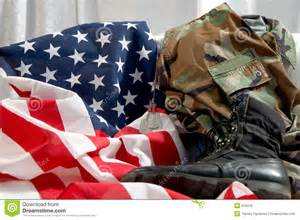Us Military Uniform American Flag