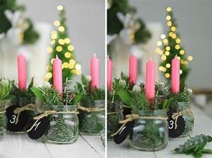 Kerze In Glas : adventskranz im glas ~ Markanthonyermac.com Haus und Dekorationen