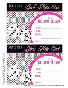 Bunco Party Printables Free