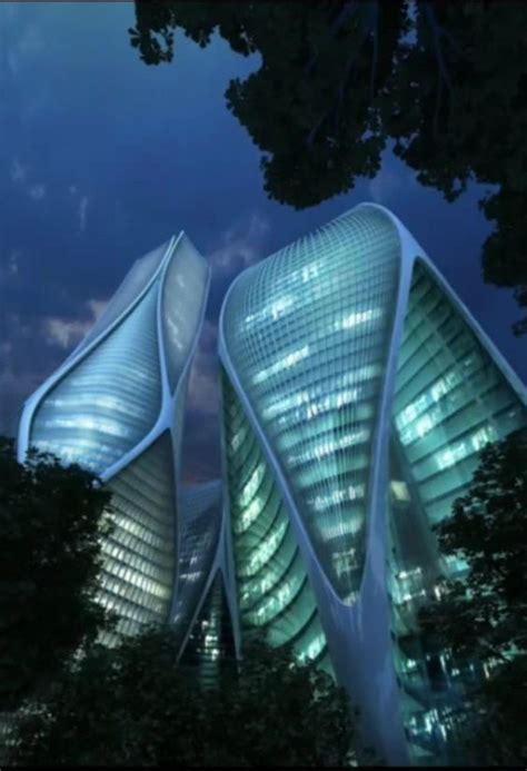 Zaha Hadid, Zaha Hadid Buildings And House Building On