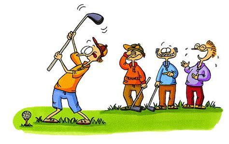 Top 60 Golf Funny Clip Art, Vector Graphics And