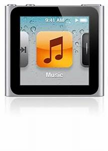 iPod Nano (6th generation) Actual Size Image
