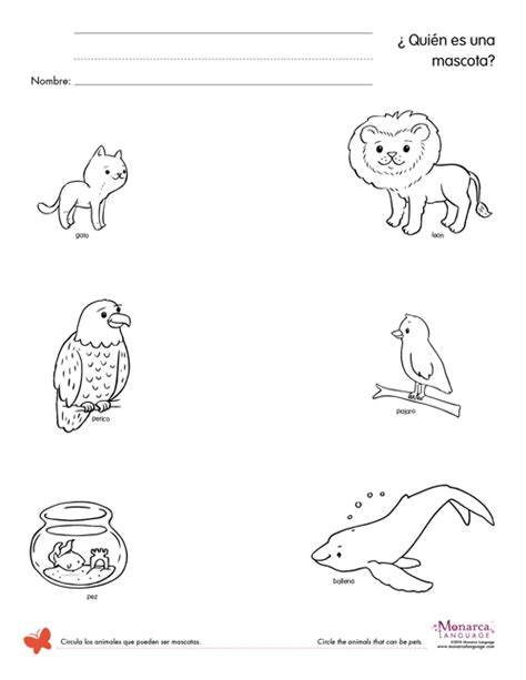 17 best images of pet animals worksheets trace pet trace