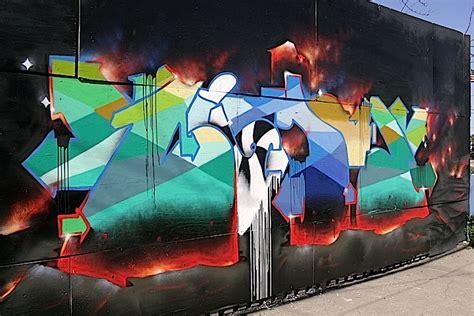 Grafiti Osis : Street Art And Graffiti Walls In New York City