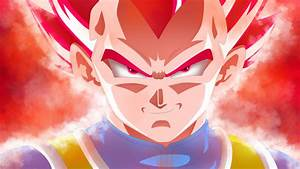 Vegeta Super Saiyan God by rmehedi on DeviantArt
