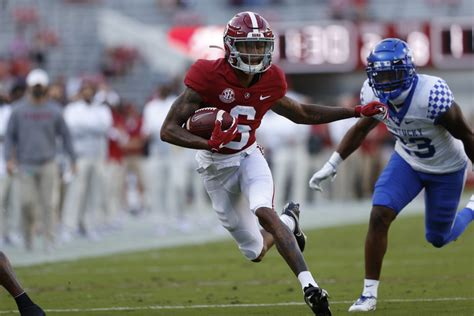 Alabama's DeVonta Smith Named SEC Co-Offensive Player of ...