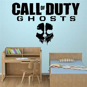 purple wall designs for a bedroom With cool call of duty wall decals