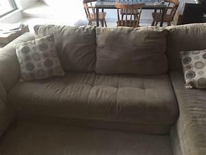 Letgo large plush 2 piece sectional sofa in milwaukee wi for Large plush sectional sofa