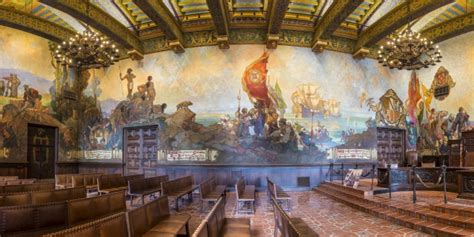 santa barbara county courthouse mural room restored mural room 2015 santa barbara courthouse legacy
