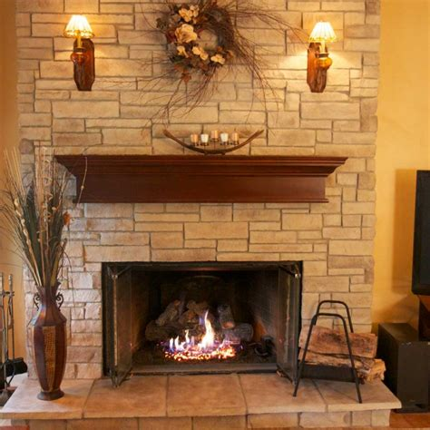 stack fireplace pictures ledge stone veneer north star stone