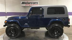2005 Jeep Wrangler Unlimited 4wd 2dr Suv Stock   4545 For