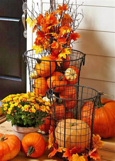 eye catching outdoor thanksgiving decorations ideas