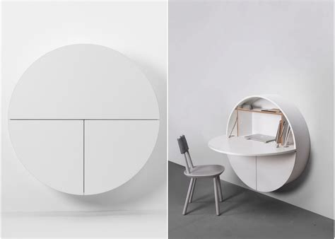 bureau mural fly meuble bureau ferm avec tablette rabattable bureau