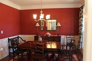 why you shouldn39t penny pinch on paint passionate penny With dining room red paint ideas