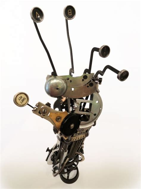 Awesome Typewriter Assemblage Sculptures by 9 Best Crasy Welding Projects Images On