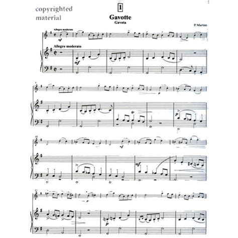 Gavotte Suzuki by Suzuki Violin School Piano Accompaniment Volume 3 Shar