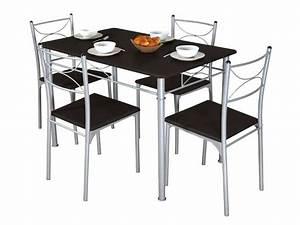 Table Et Chaise Encastrable : table et chaise ~ Louise-bijoux.com Idées de Décoration