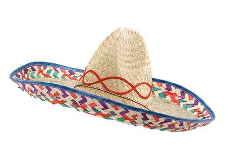 Mexican Sombrero Western Bandit Fancy Dress Straw Hat