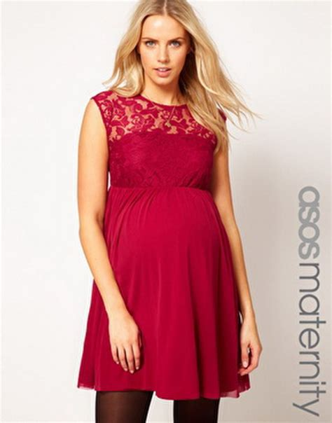 christmas maternity dress