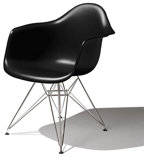 eames molded plastic arm chair modern armchairs and accent