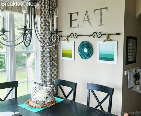 Decorating Ideas For Kitchen Breakfast Area by Craftaholics Anonymous 174 Breakfast Nook Reveal