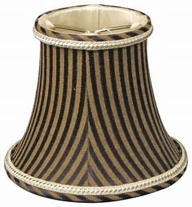 Quot decoratie trim black antique gold striped chandelier