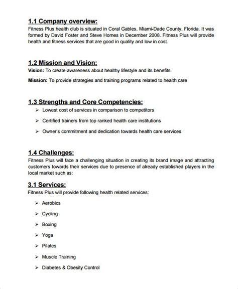 spa salon business plan templates  google docs
