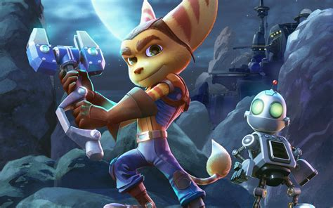 Ratchet And Clank Wallpaper Ratchet Clank 2015 Movie Wallpapers Wallpapers Hd