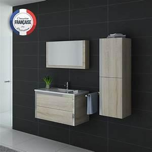 meuble de salle de bain 1 vasque 90 cm meuble de salle de With meuble de salle de bain scandinave