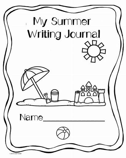 Journal Writing Covers Summer Drawing Coloring Science