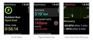Apple Watch Heart Rate Recovery Data Tells If Your